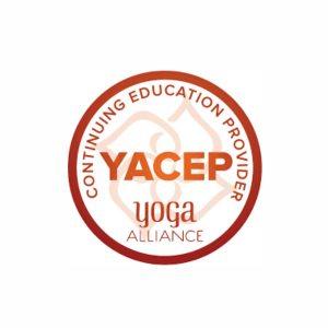 yoga alliance usa YACEP continuing education provider - educazione continua - expert trainer - teacher training corsi formazione insegnanti - insegno yoga - free yoga - andrea beom - lucia ragazzi - logo
